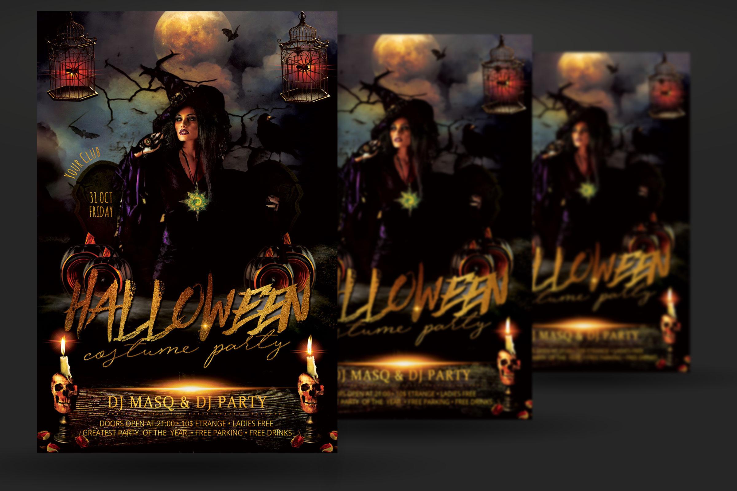 Halloween Flyer example image 2