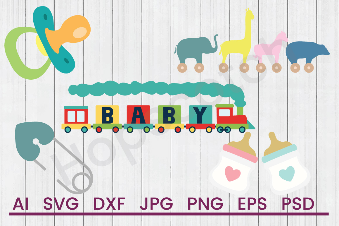 Baby SVG Bundle, DXF File, Cuttable File example image 1