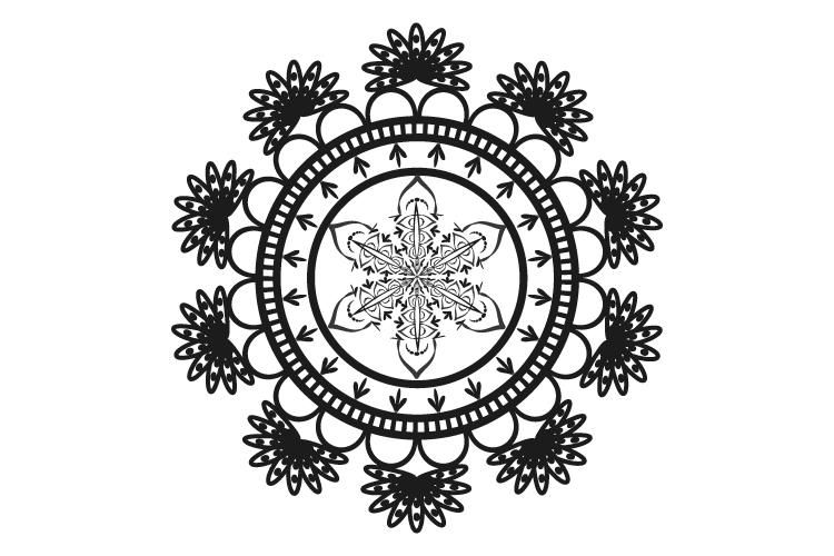 Mandalas. Round forms. example image 11