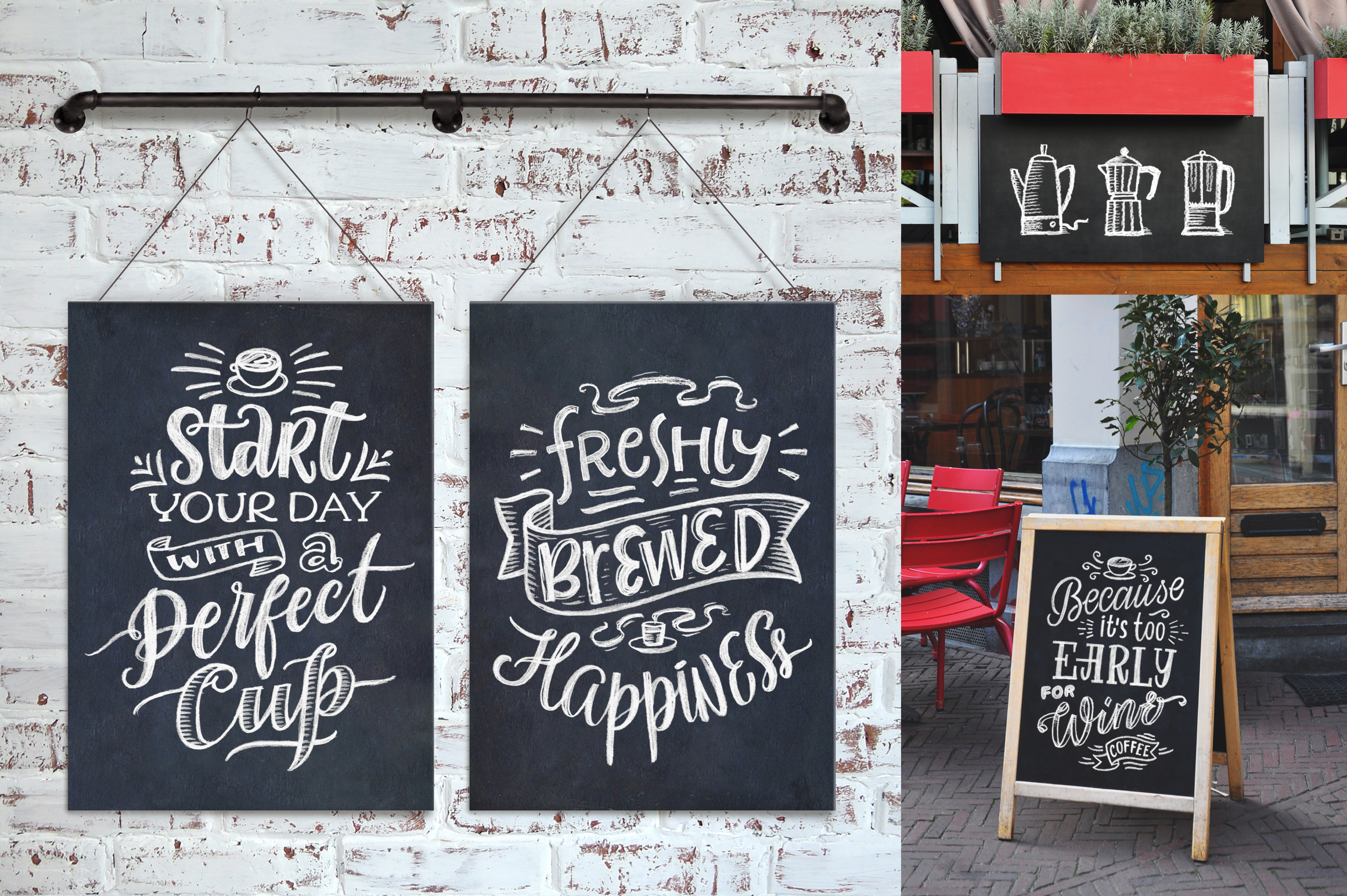 Coffee Chalk Letterings example image 3