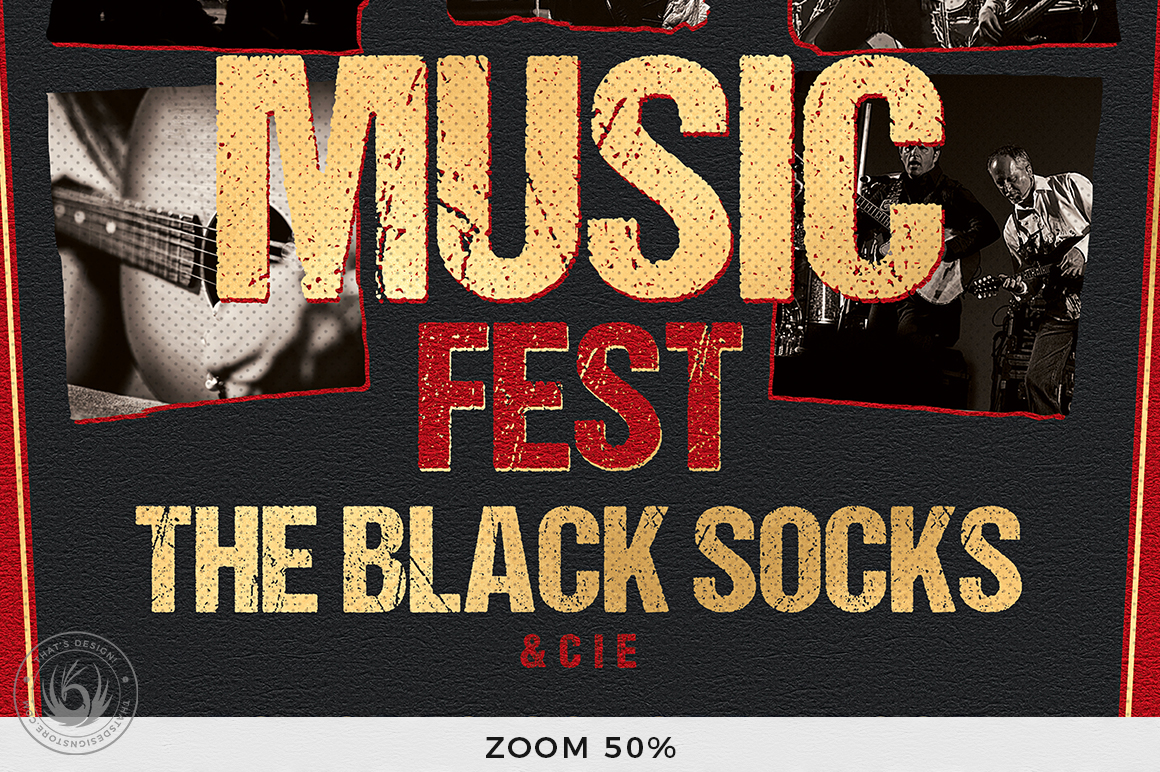 Music Festival Flyer Template V9 example image 7
