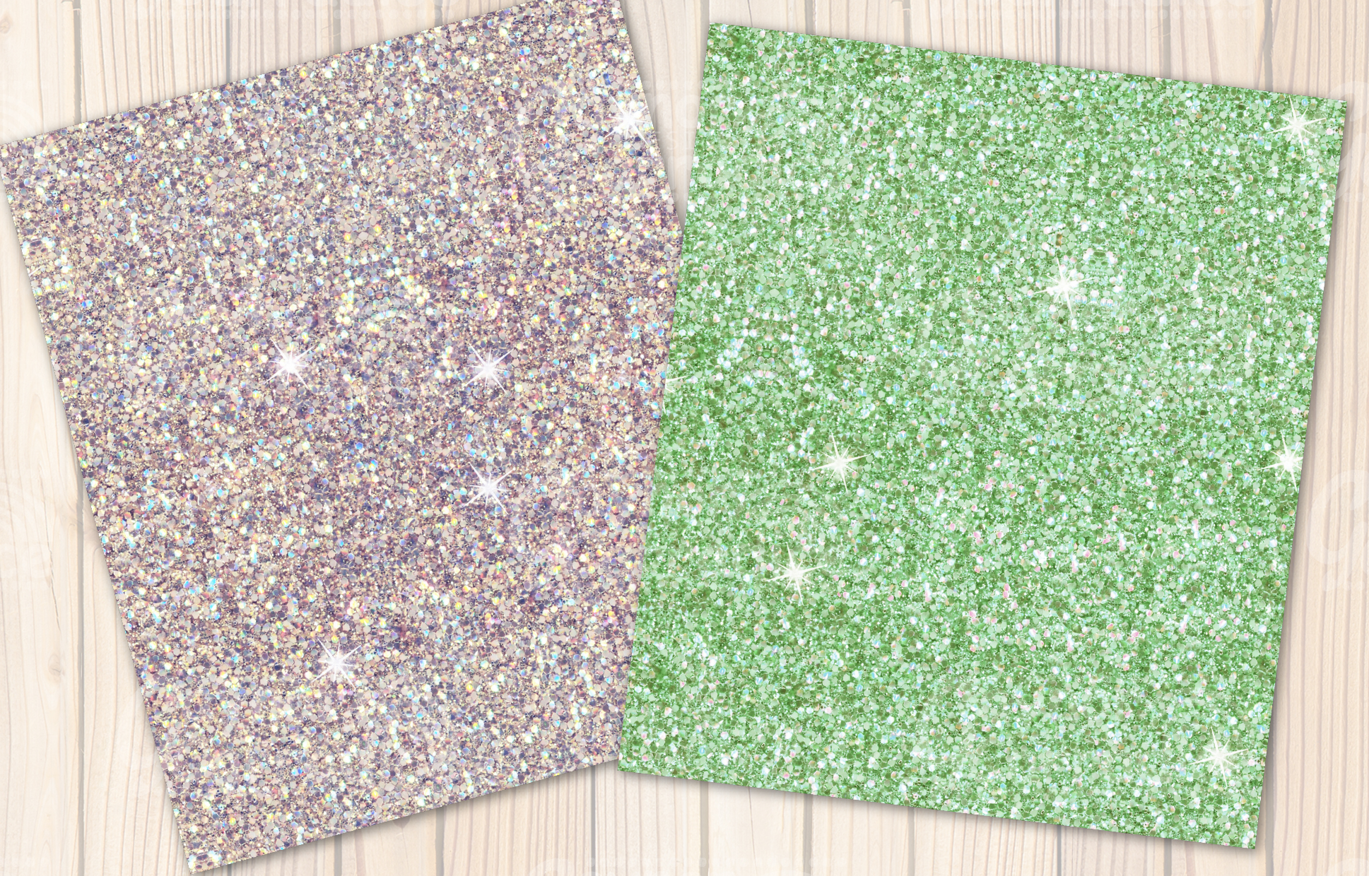 Beach Please glitter collection example image 3