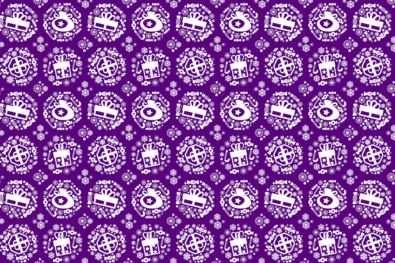 Christmas theme. Background, wrapping paper. example image 5