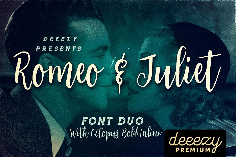 Romeo & Juliet Font Duo example image 1