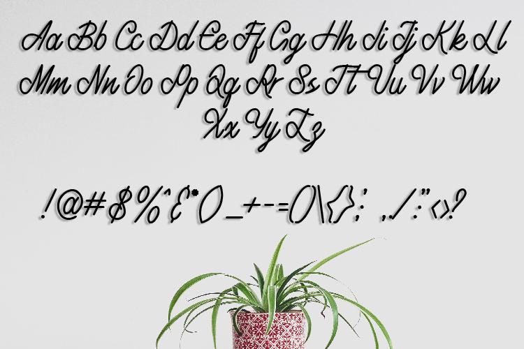 Fatya Handwritten Font example image 9