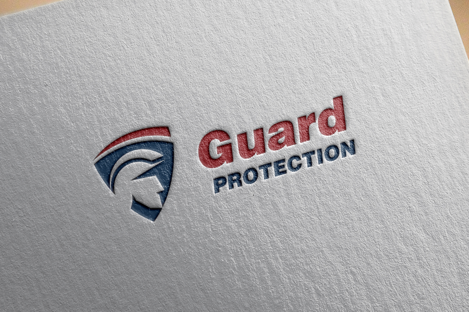 Police & Shield Logo, Guard Protection. example image 1