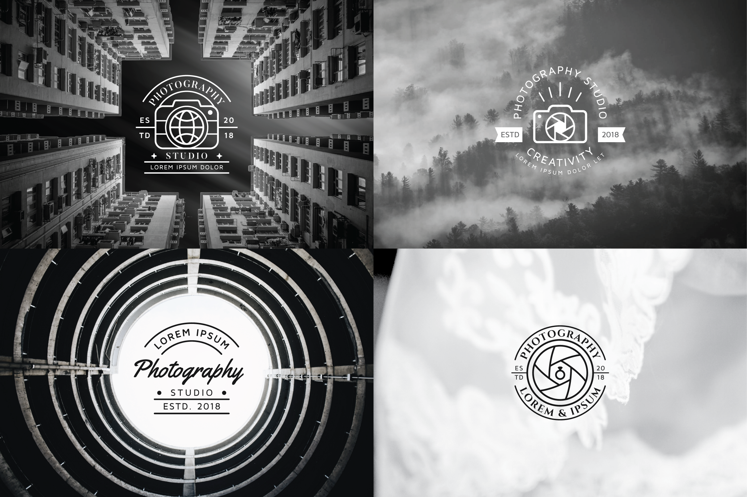 15 Premium Photography Logo example image 12