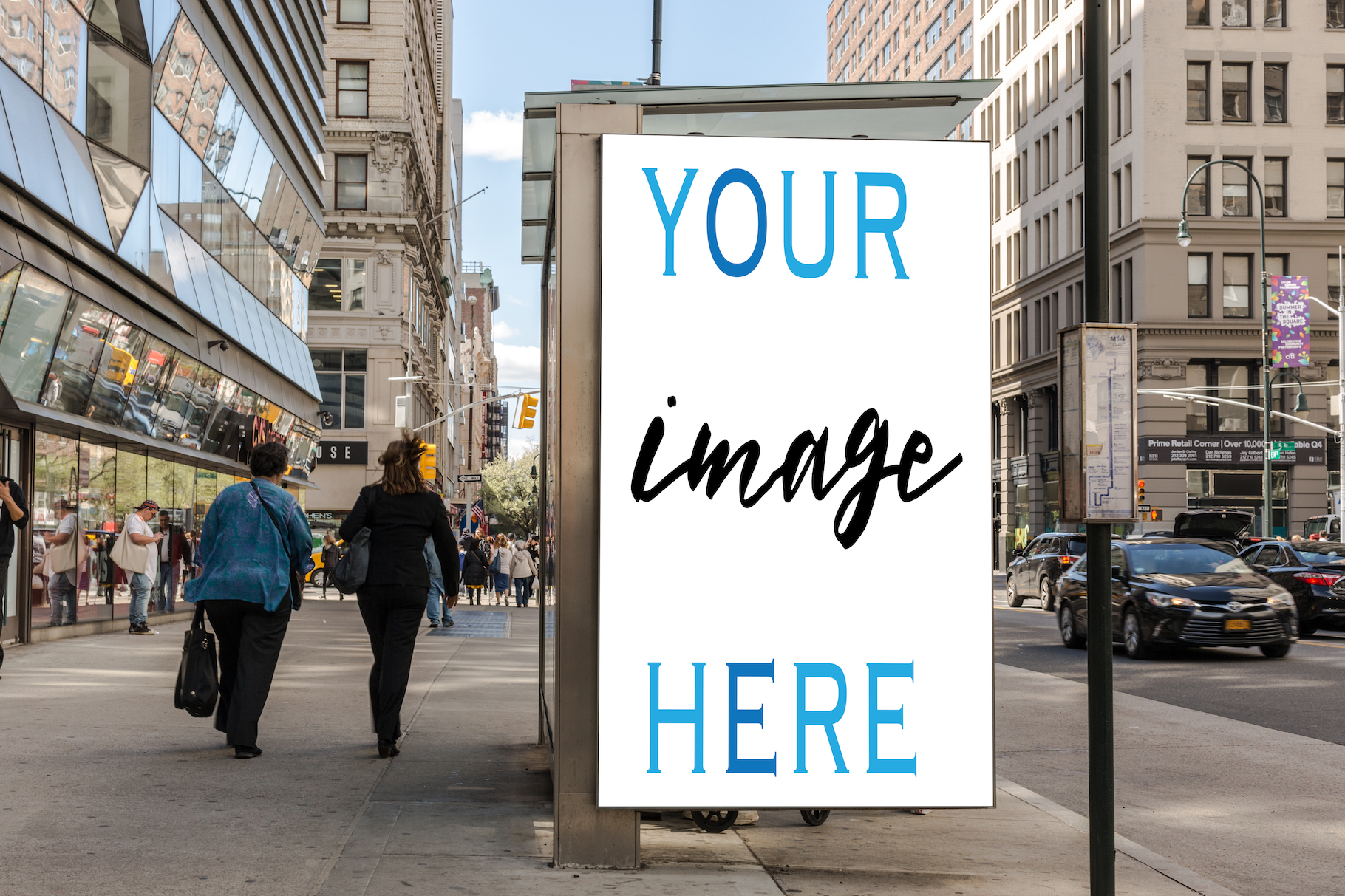 Set of 11 advertising billboard example image 6