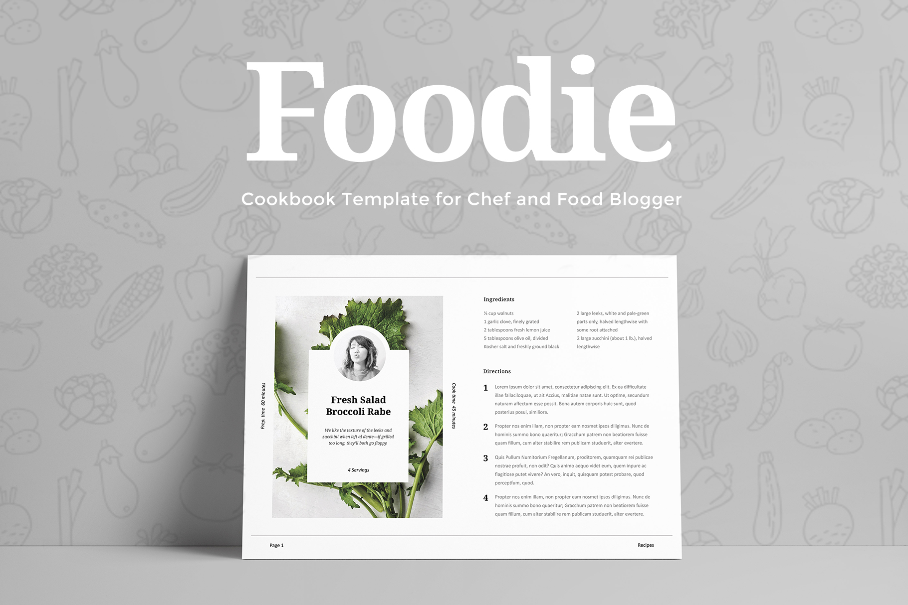 Foodie - Cookbook Template example image 6