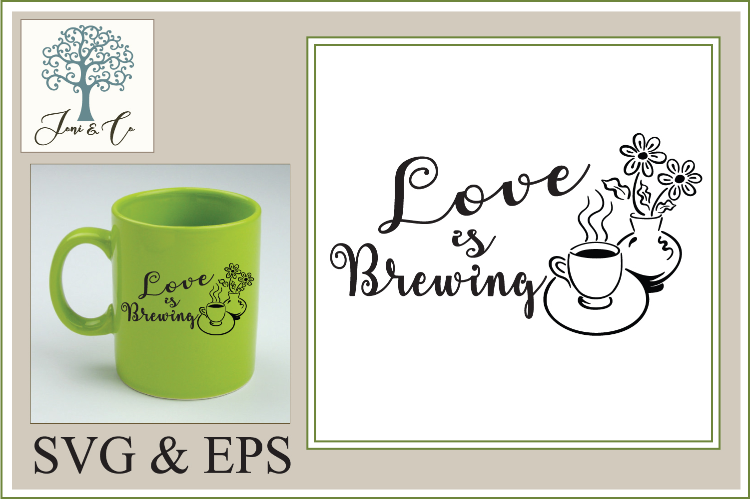 Love is Brewing - Coffee  example image 1