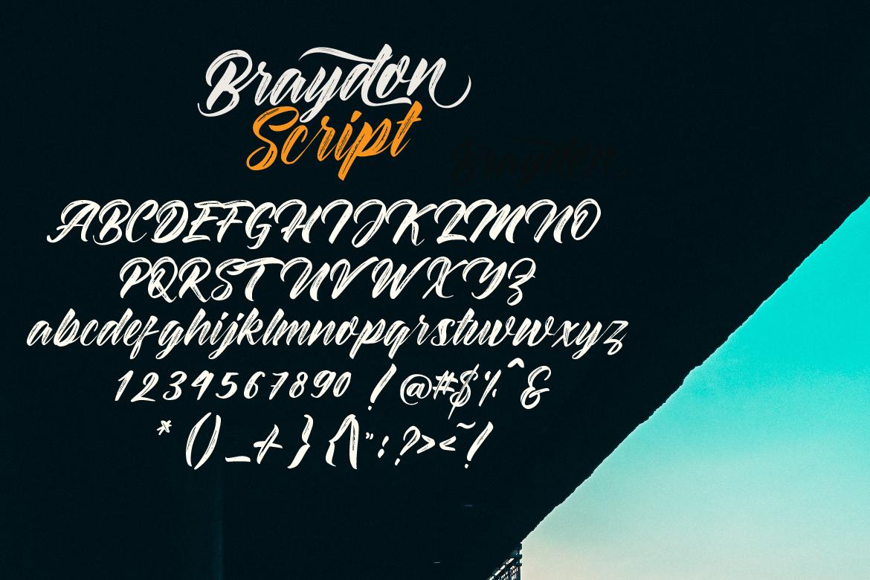 Braydon Script example image 9