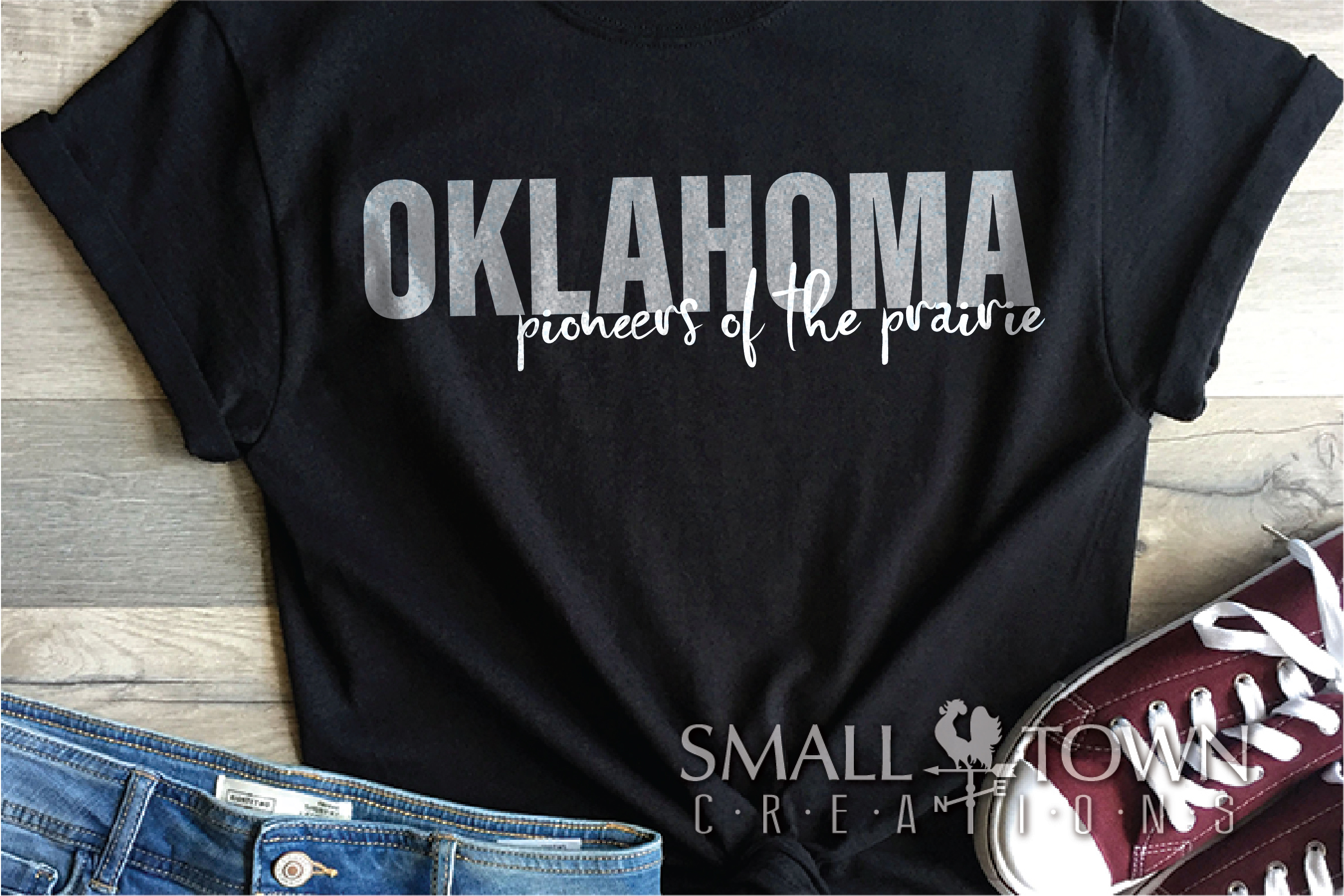 Oklahoma, Pioneers of the Prairie, PRINT, CUT & DESIGN example image 4