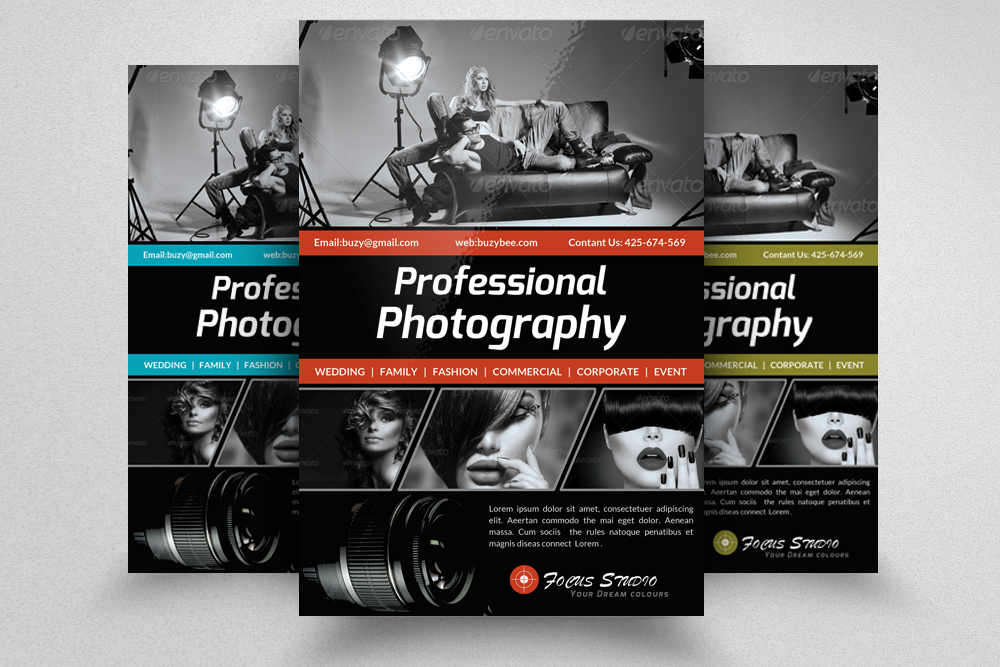6 Photography Business Flyers Bundle example image 6