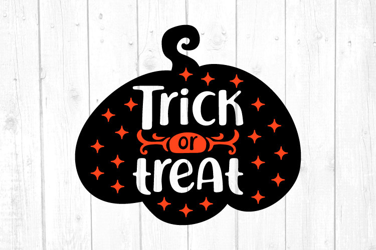 Trick or Treat Svg, Halloween Svg, Witch Svg, Svg Files example image 1