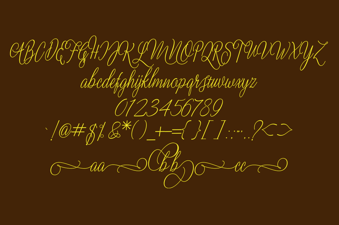 Letty font example image 3