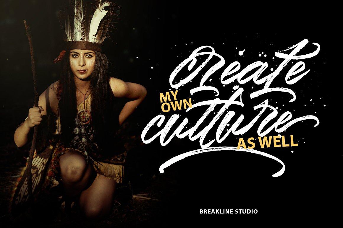 Styledeep Brush Typeface example image 4