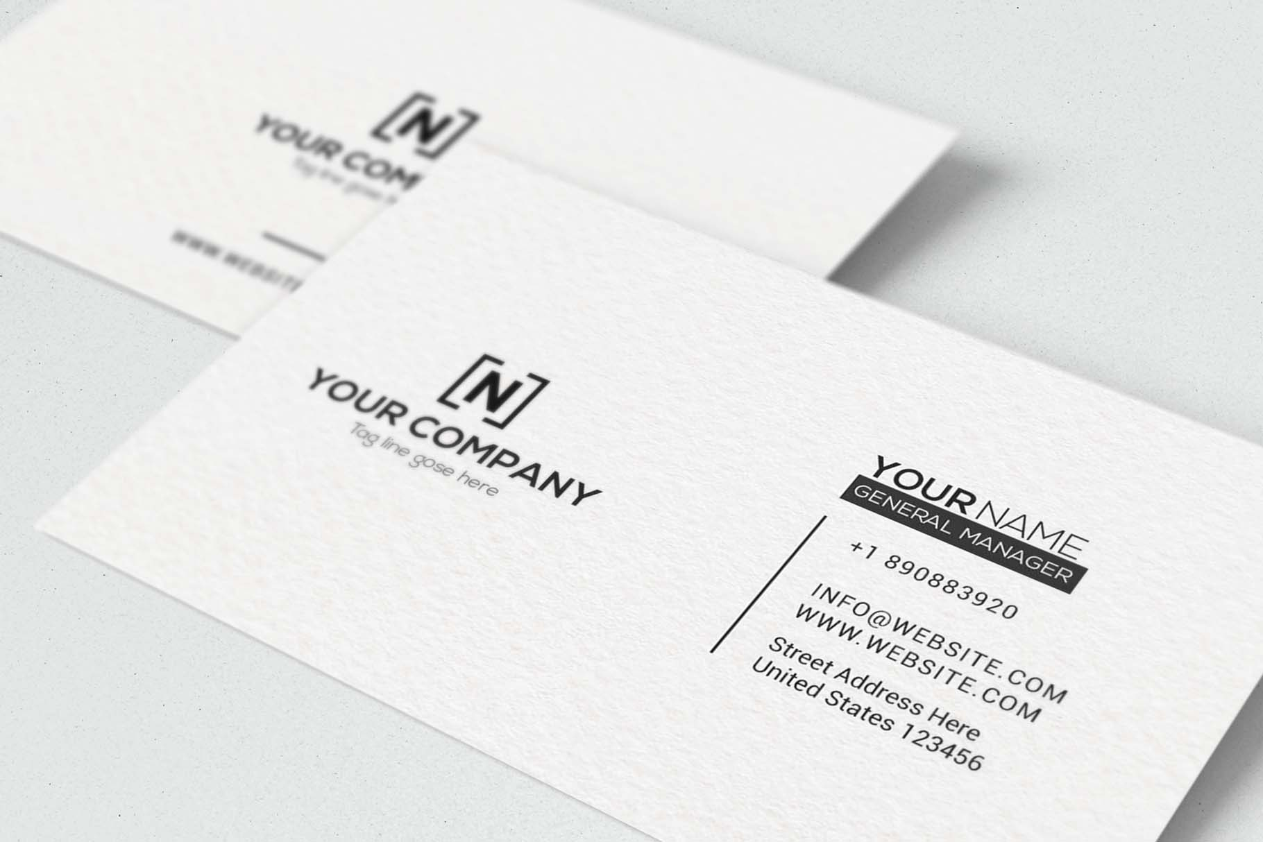 Minimal Business Cards example image 4