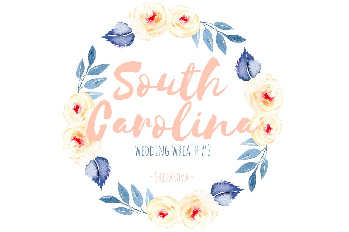 South Carolina. Wreath #6 example image 1