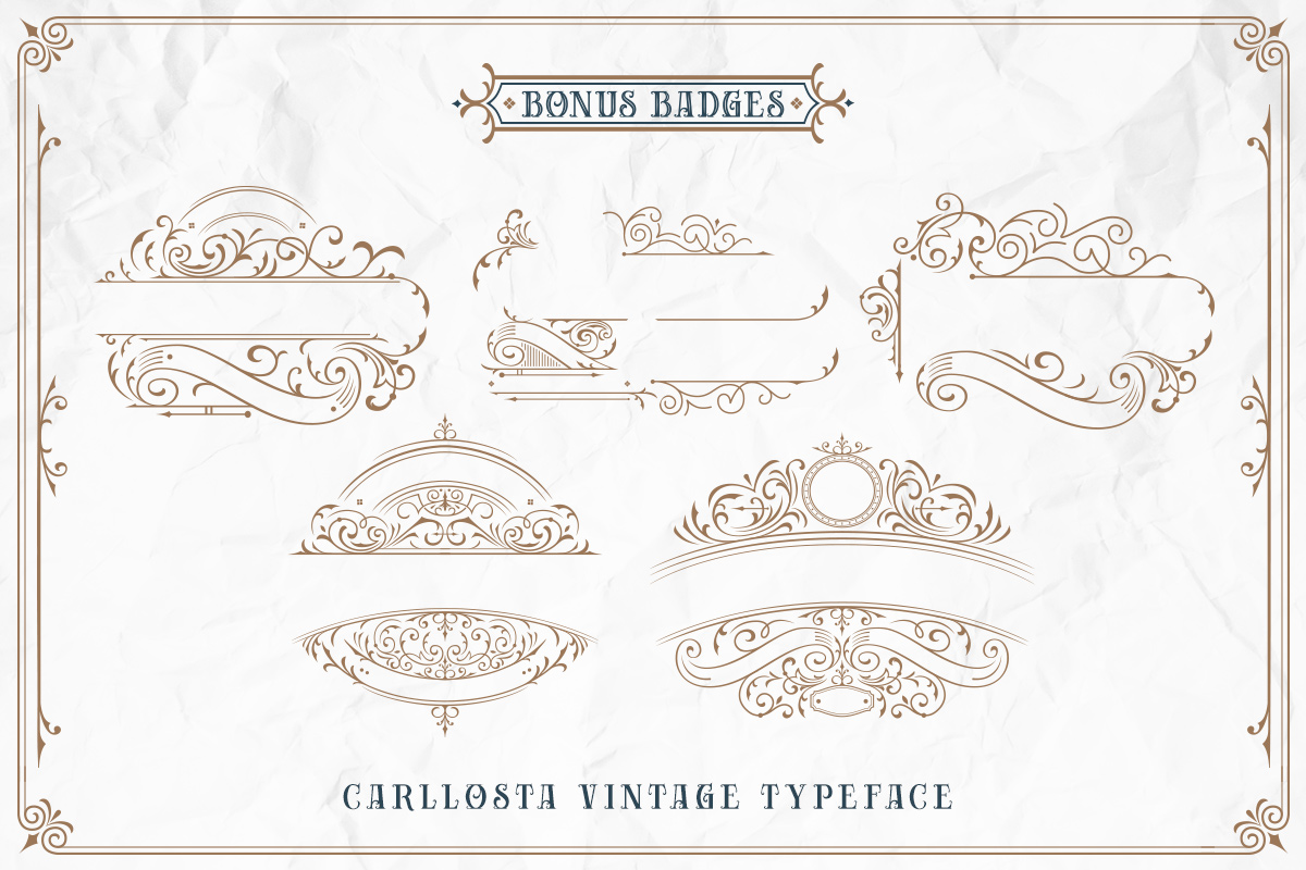 Carllosta - Layered Font and EXTRAS example image 9