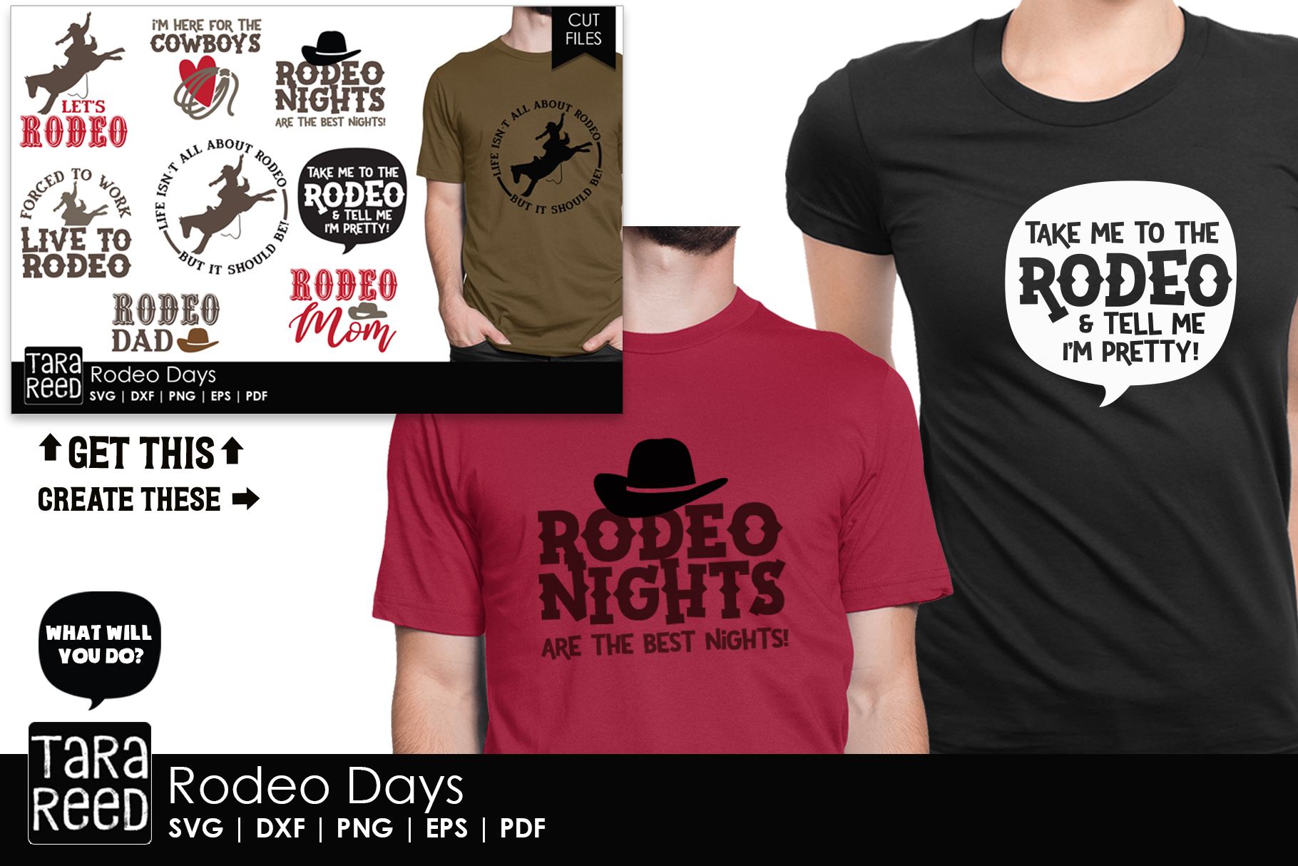 Rodeo Days - Rodeo SVG and Cut Files for Crafters example image 2