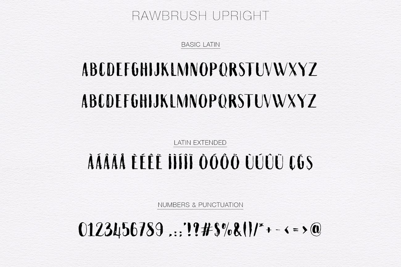 Rawbrush Upright example image 8