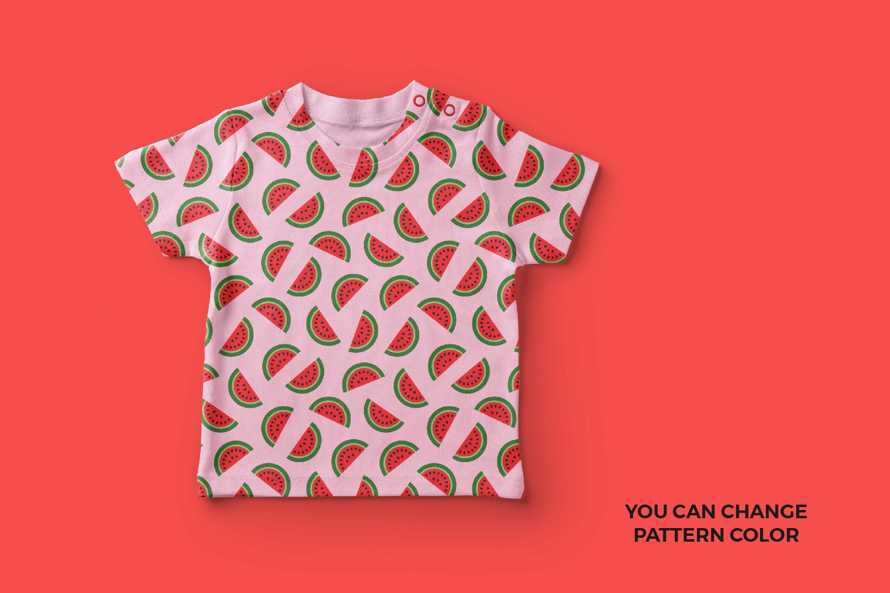 Watermelon Seamless Patterns example image 3