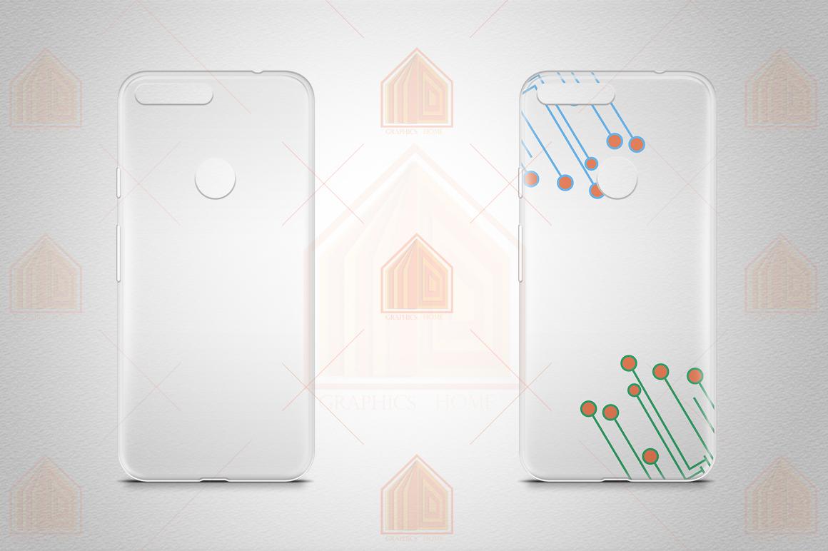 Google Pixel UV TPU Case Mockup Back View example image 2