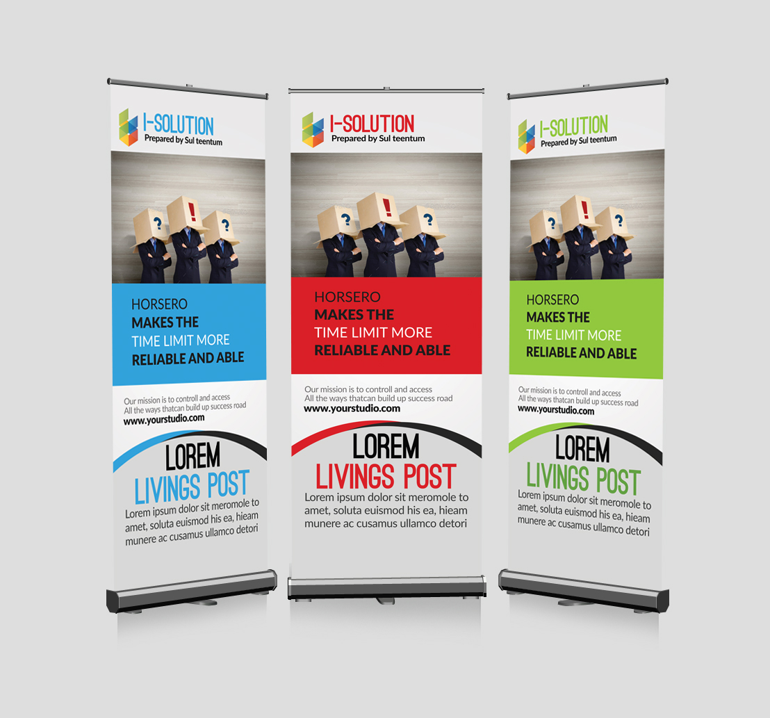 Business Identification Roll Up Banners example image 1