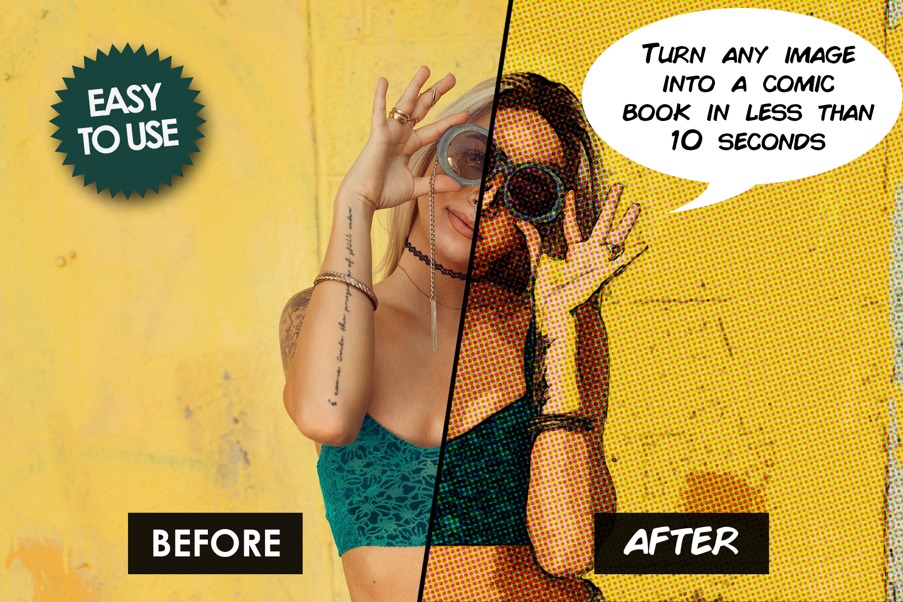 Comic Book Photoshop Action example image 4