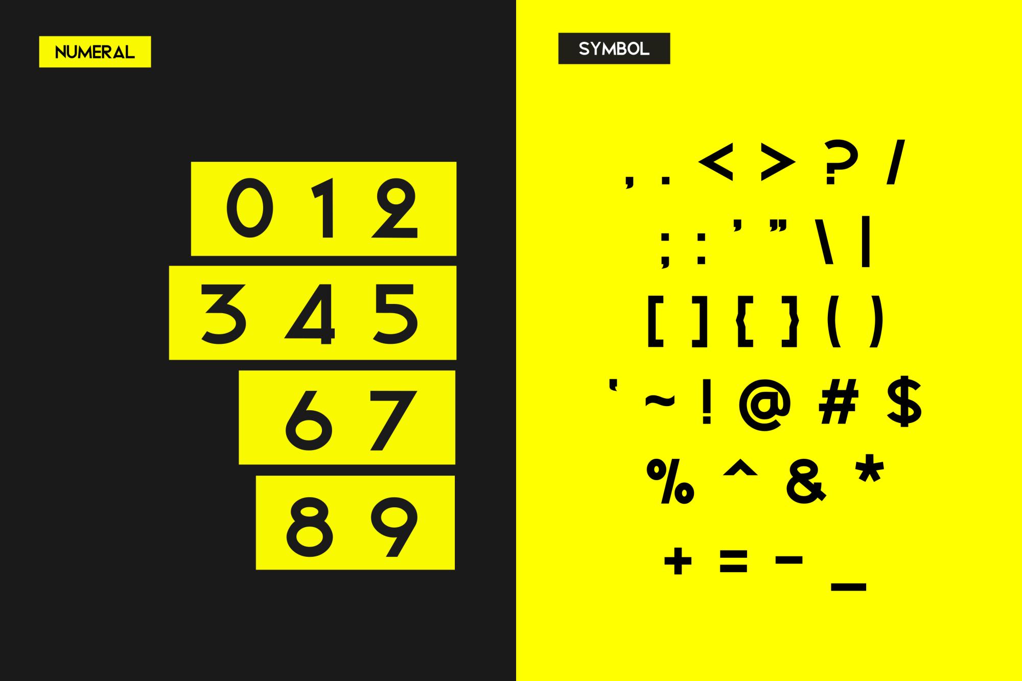 Bigboz Typeface Font example image 6