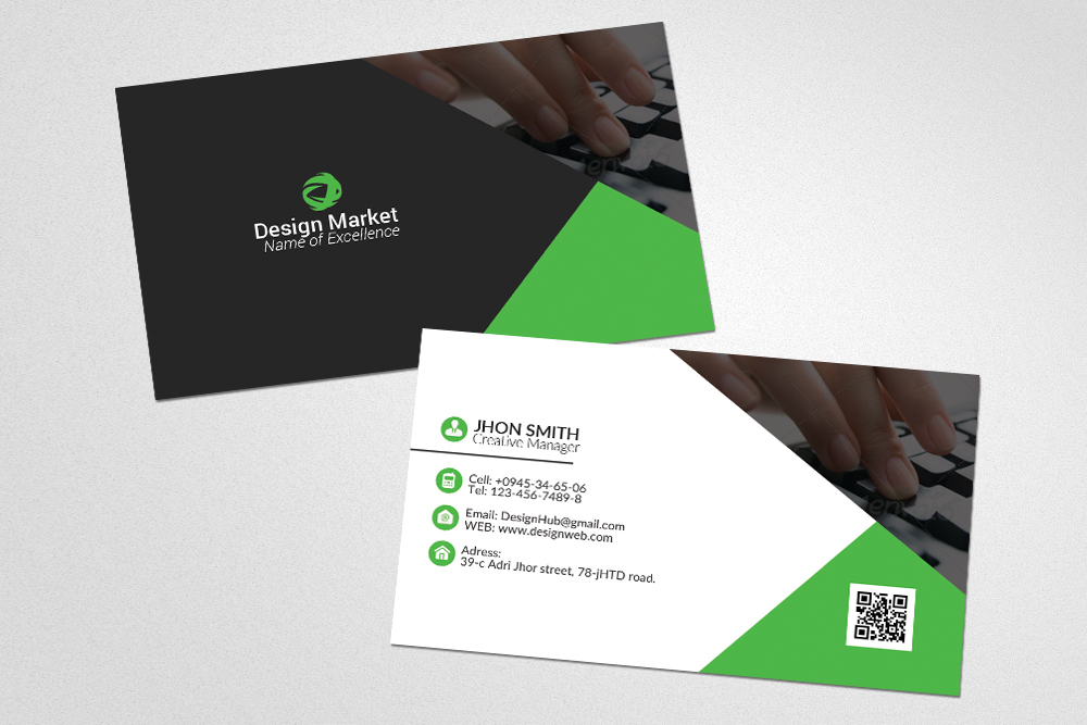Business Cards Editable files example image 2