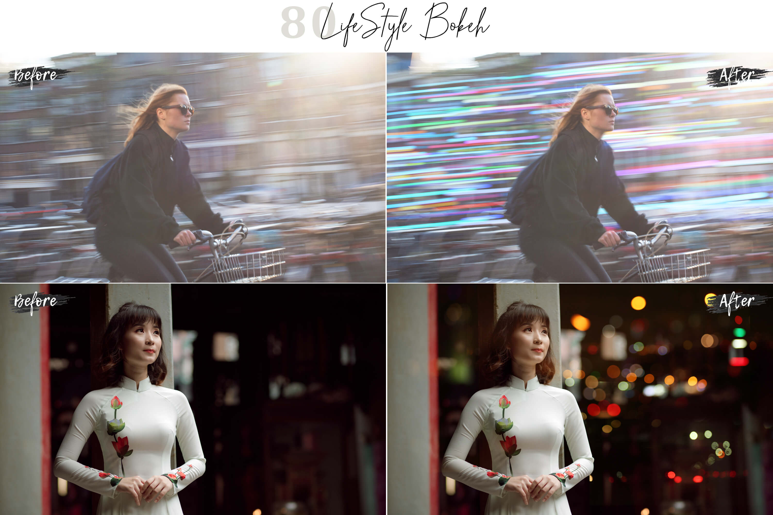 80 Life Style Bokeh Pack 02 lights Effect Photo Overlays example image 6