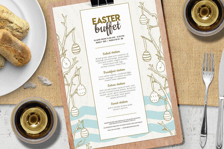 Easter Menu Template Vol.2 example image 3