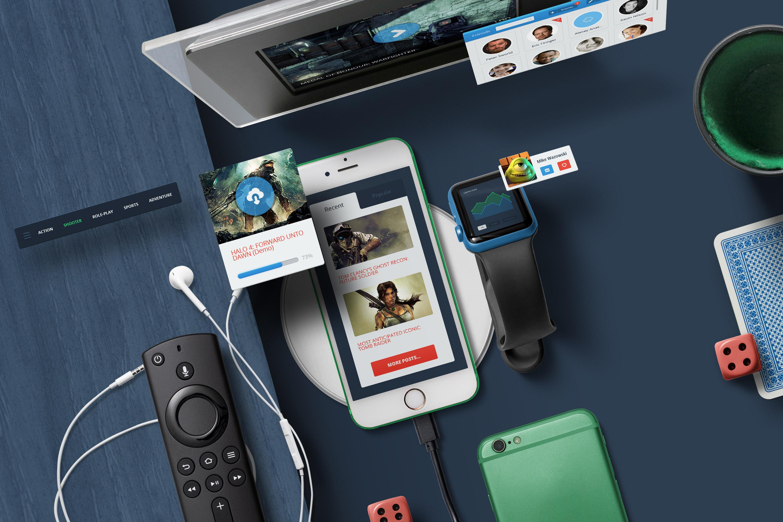 App / UI Kit Mockups example image 5