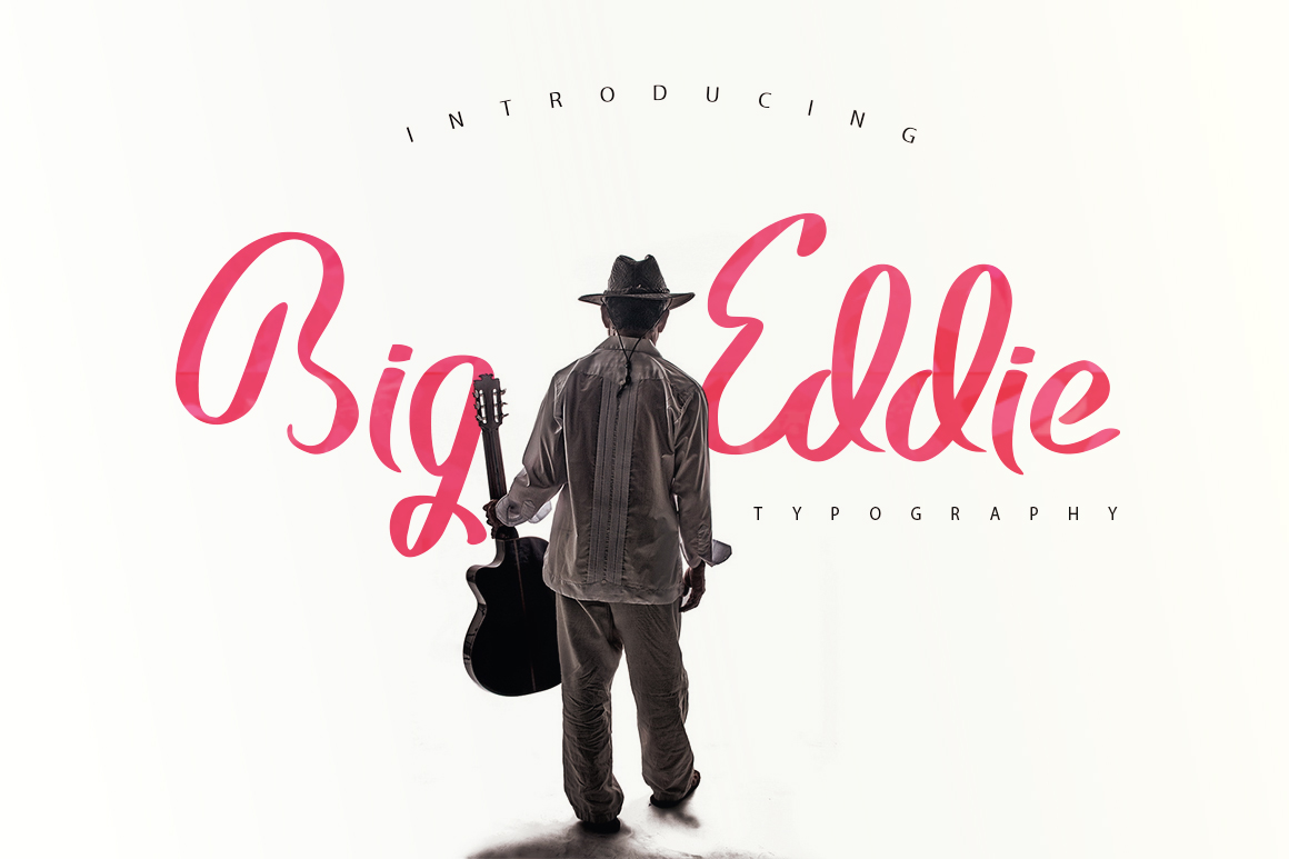 Big Eddie Script Typeface example image 1