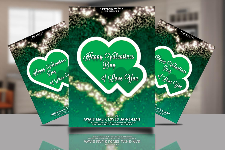 Valentines Day Flyer Bundle example image 2