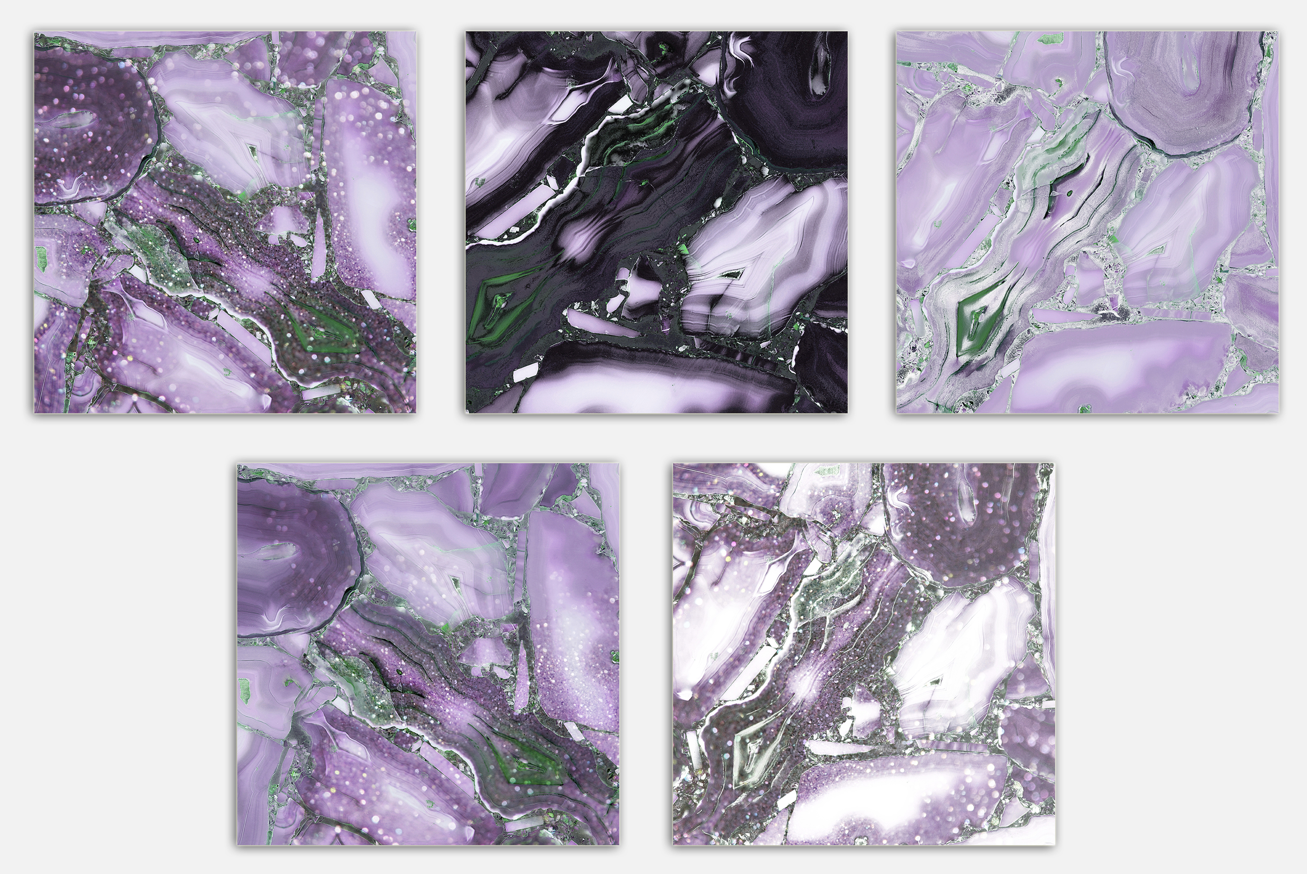 Oil Paint and Marble Textures BUNDLE example image 19