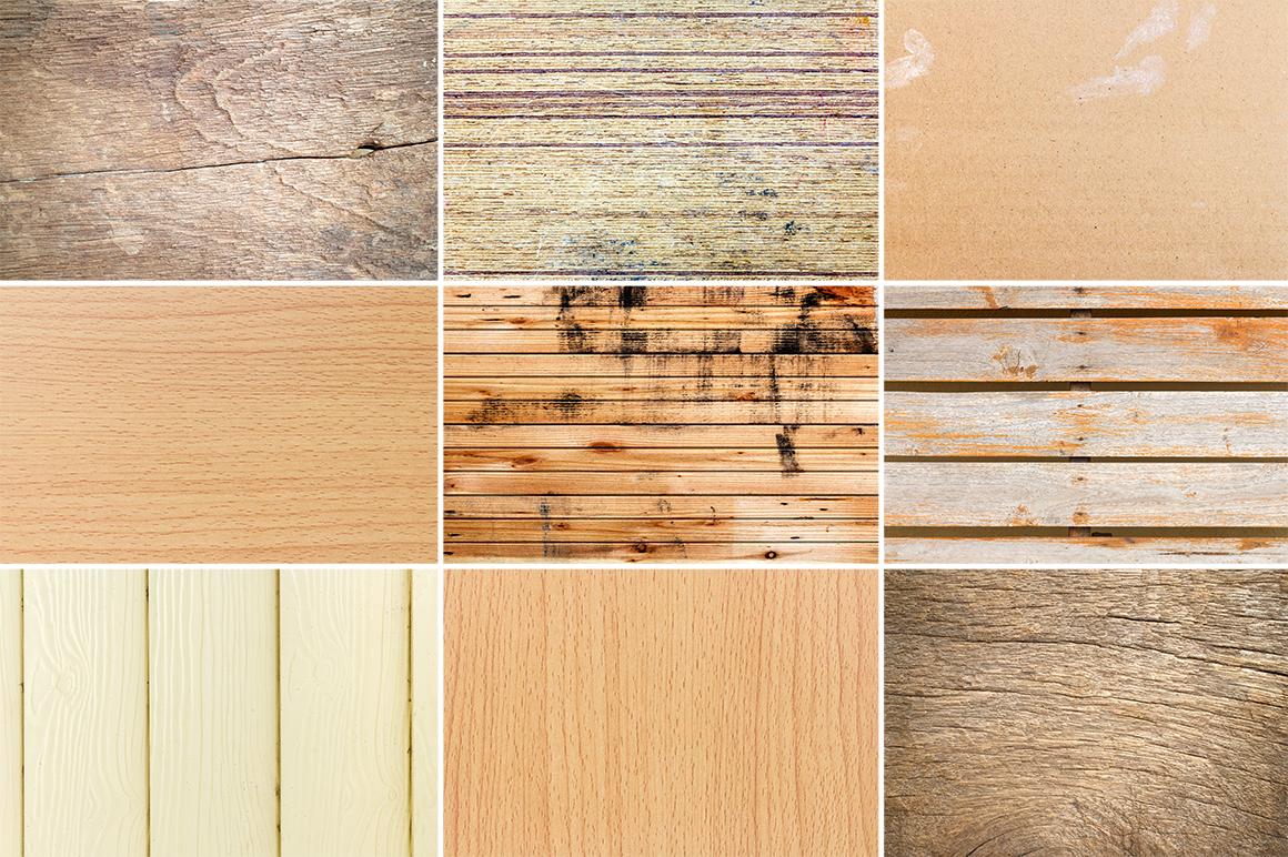 50 Wood Texture Background Set 2 example image 6