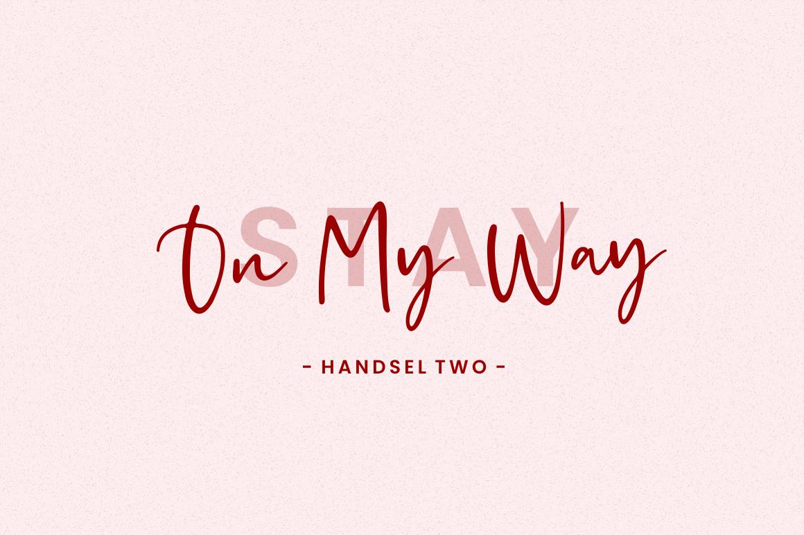 Handsel - Handwritten Font example image 3
