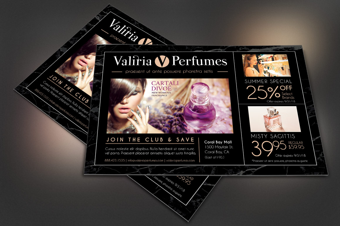 Perfume Club Flyer Template example image 3
