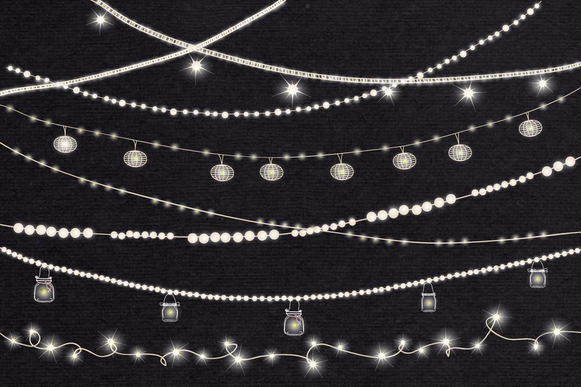 String Lights Clip art example image 2