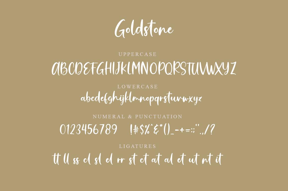 Goldstone - Stylish Handwritten Font example image 7