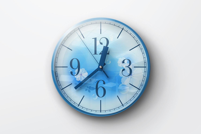 Wall Clock Mockups example image 2