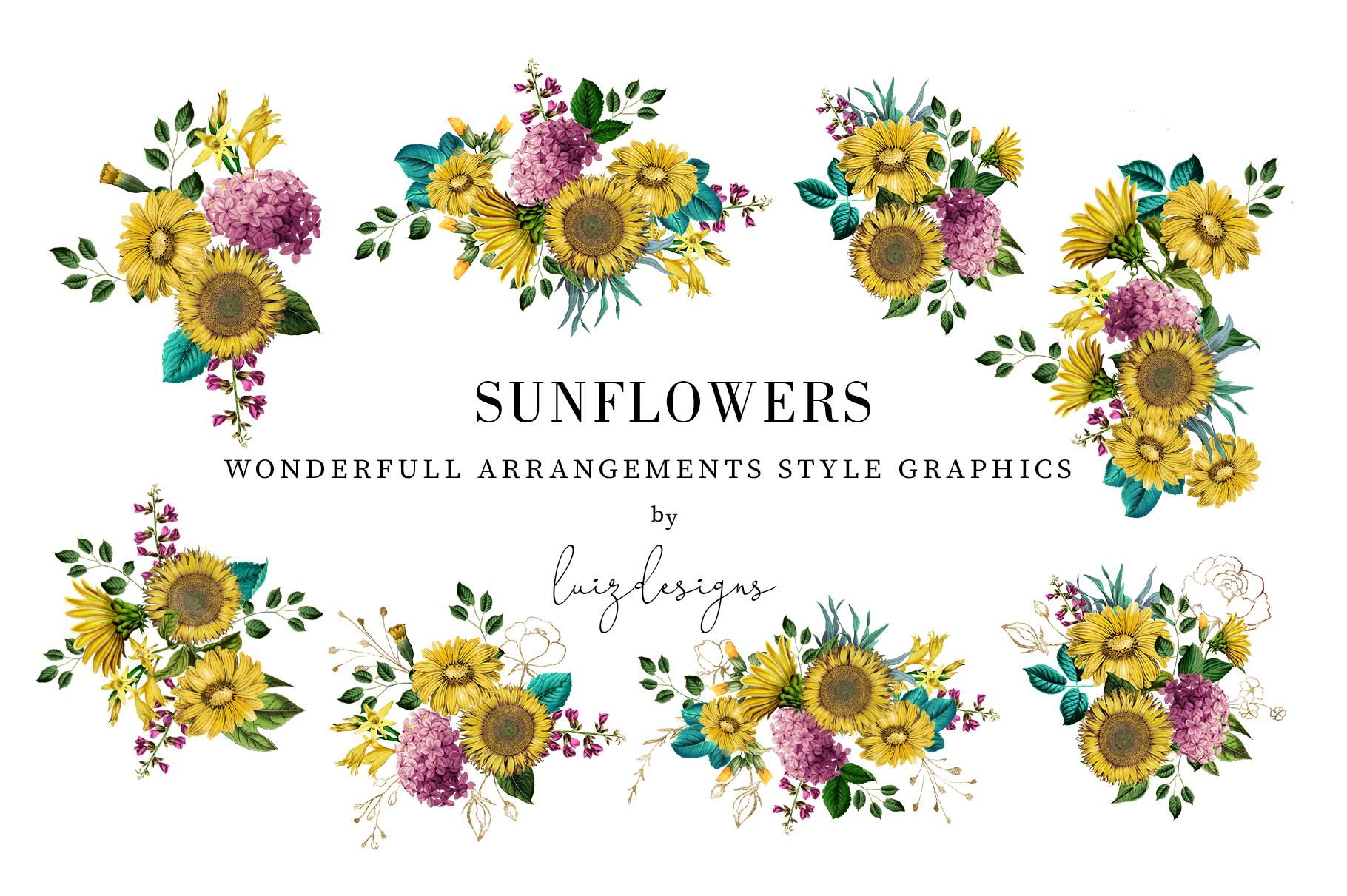 Sunflowers example image 3