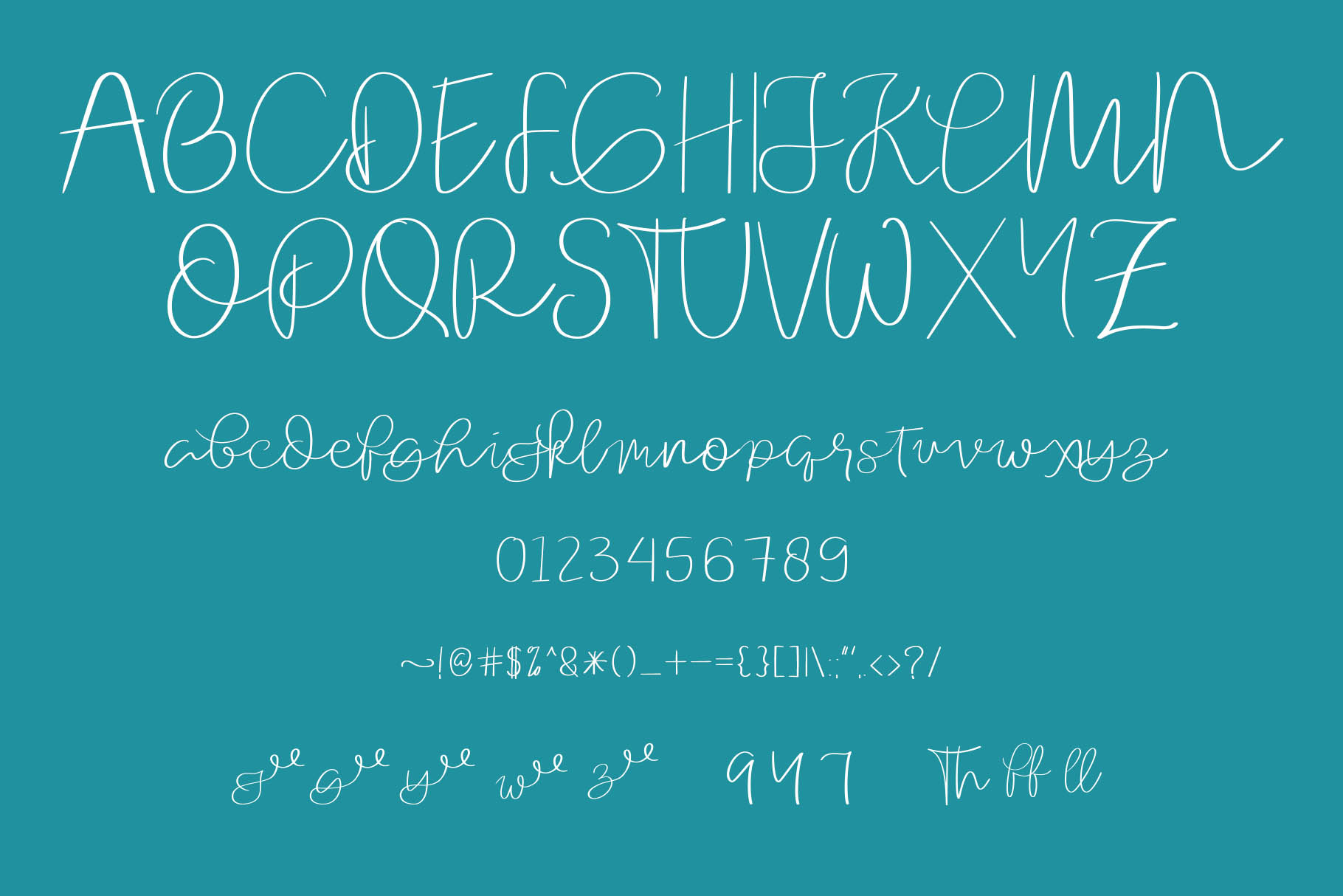 Orchard FOnt example image 2