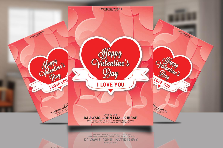 Valentines Day Flyer Bundle example image 8