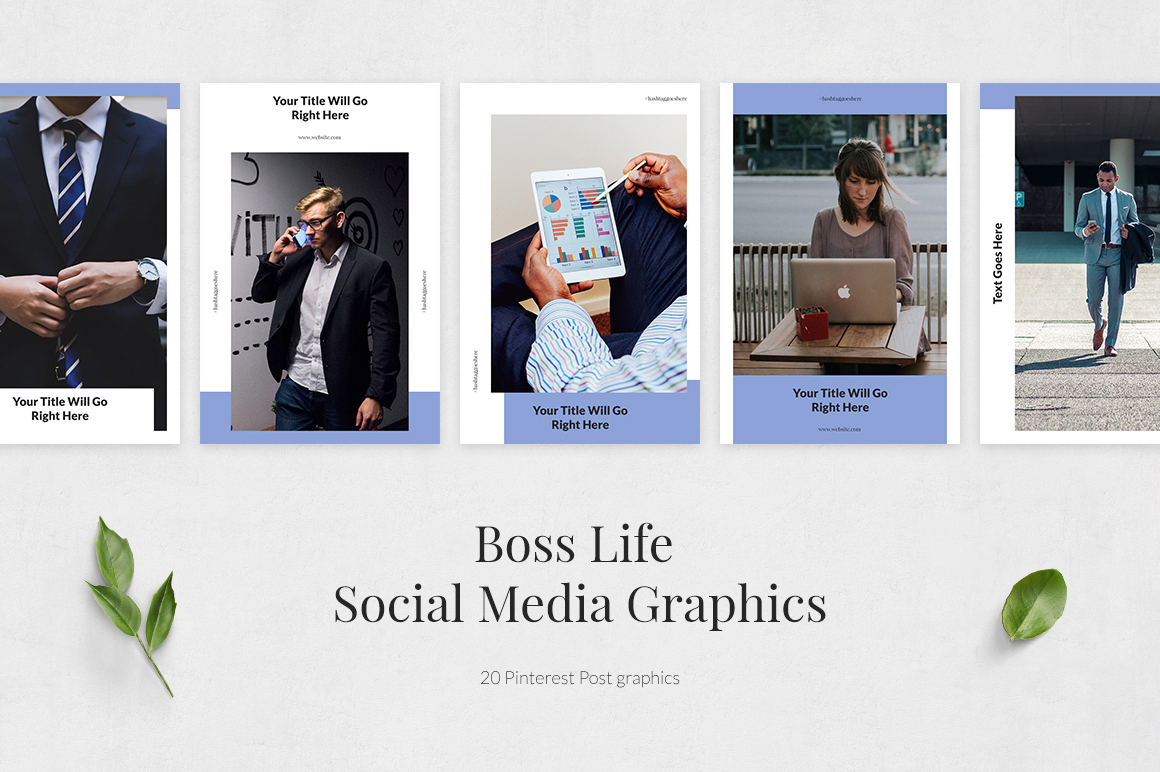 Boss Life Pinterest Posts example image 2