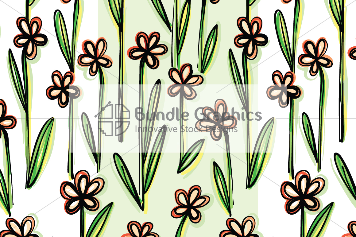 Vector Floral Pattern Pack example image 4