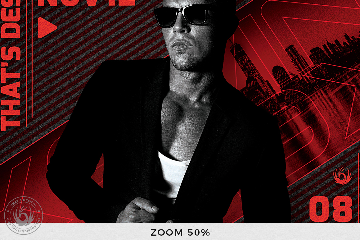 DJ Guest Flyer Template V3 example image 9