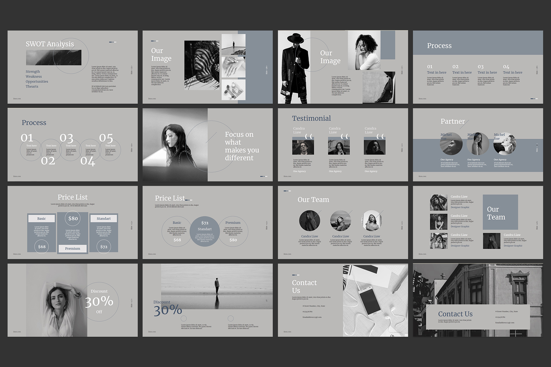 Corporate Powerpoint Templates example image 4